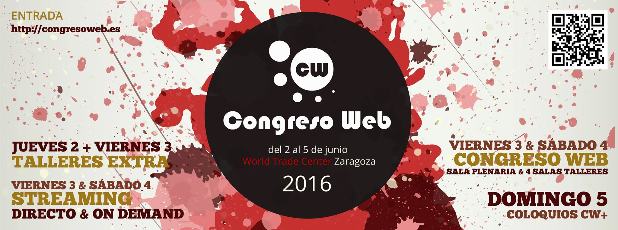 Qué esperas de Congreso Web 2016