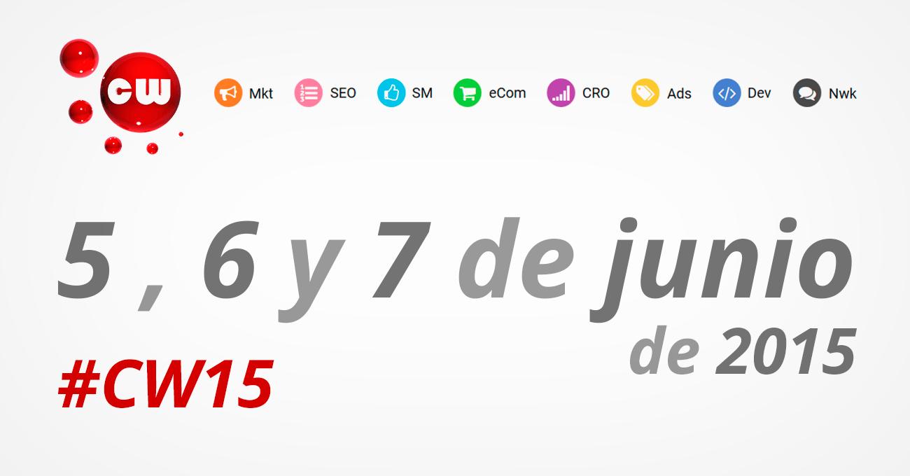 Congreso Web 2015 1