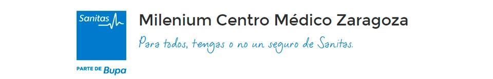 Logo de Sanitas Centro Médico Zaragoza