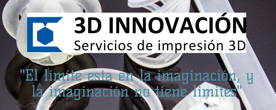 Página Web de 3D innovación