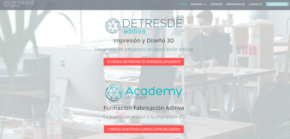 Página web de Detresdé